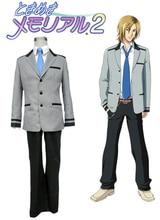 Envío Libre Tokimeki Memorial GS2 Chicos de Secundaria Uniforme de Cosplay del Anime