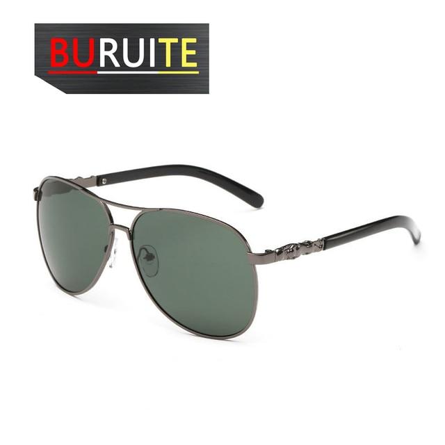 BURUITE-gafas de sol polarizadas clásicas para hombre y mujer, lentes de visión nocturna para Conductor, para conducir 5