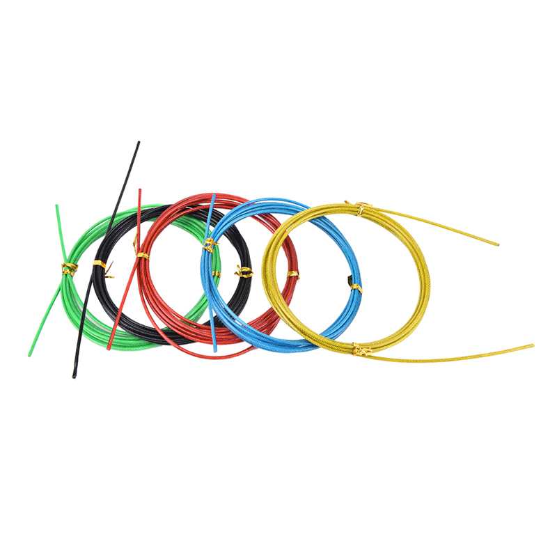 Colorful Crossfit Replaceable Wire Cable Speed Jump Ropes Skipping Rope