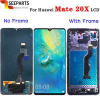 100% Tested For Huawei Mate 20X LCD Touch Screen Digitizer Assembly Replacement Parts 7.2 For Huawei Mate 20 X LCD Display