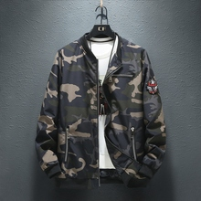 Plus 9XL 8XL  7XL Mens jackets and coats Bomber Jacket Men hoodies zipper Coat Camouflage Pilot Wind Breaker jacket