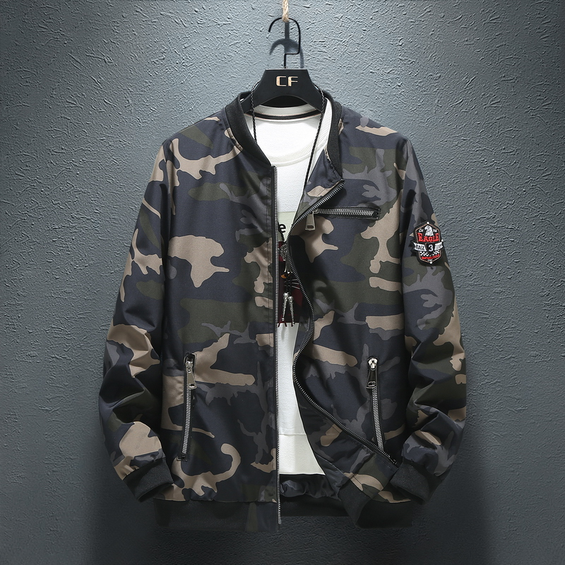 Plus 9XL 8XL <font><b>7XL</b></font> Mens jackets and <font><b>coats</b></font> Bomber Jacket Men hoodies zipper <font><b>Coat</b></font> Camouflage Pilot Men Wind Breaker jacket image