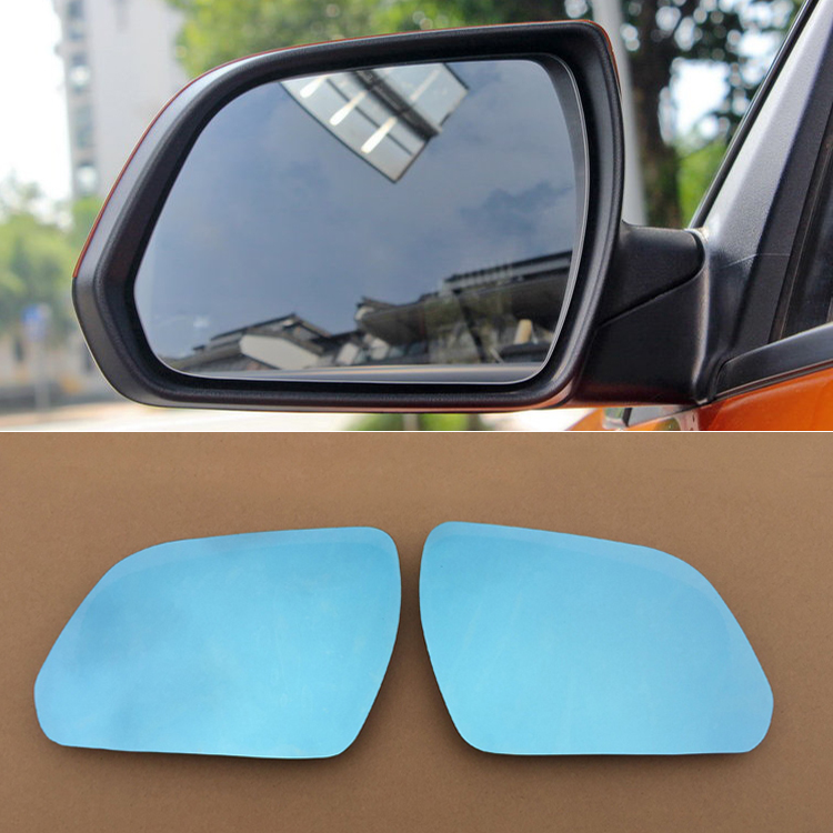 Savanini 2pcs New Power Heated w/Turn Signal Side View Mirror Blue Glasses For Hyundai IX25