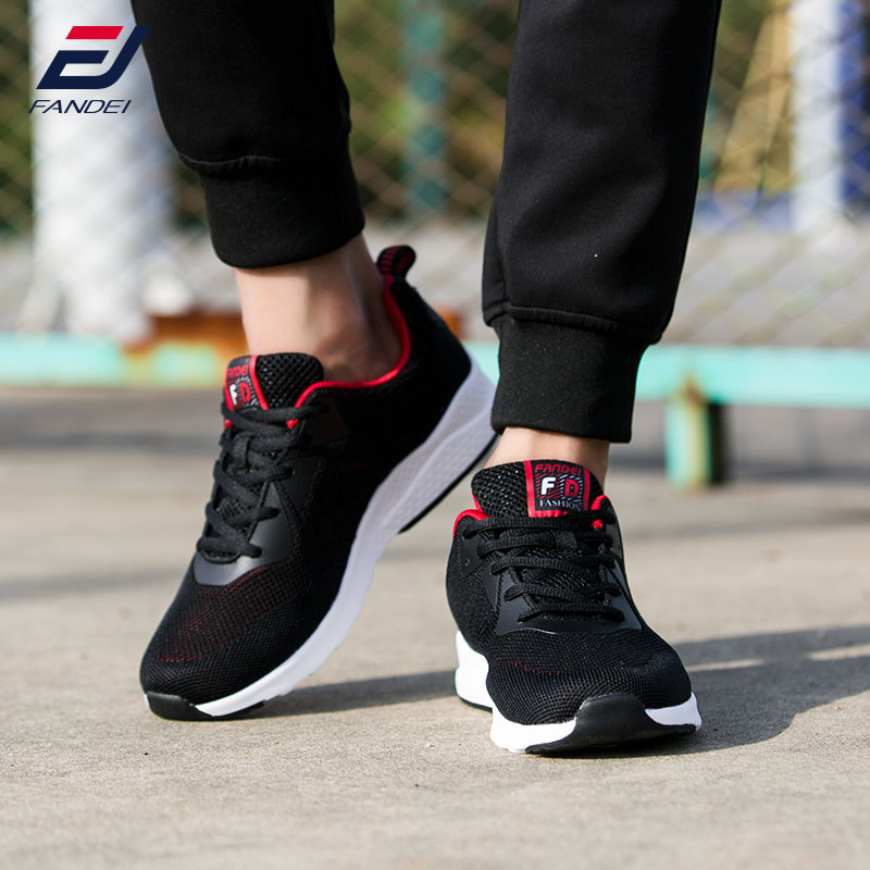 FANDEI winter outdoor LARGE SIZE running shoes for men mesh sport shoes men damping men sneakers chaussure sport homme EU39-47