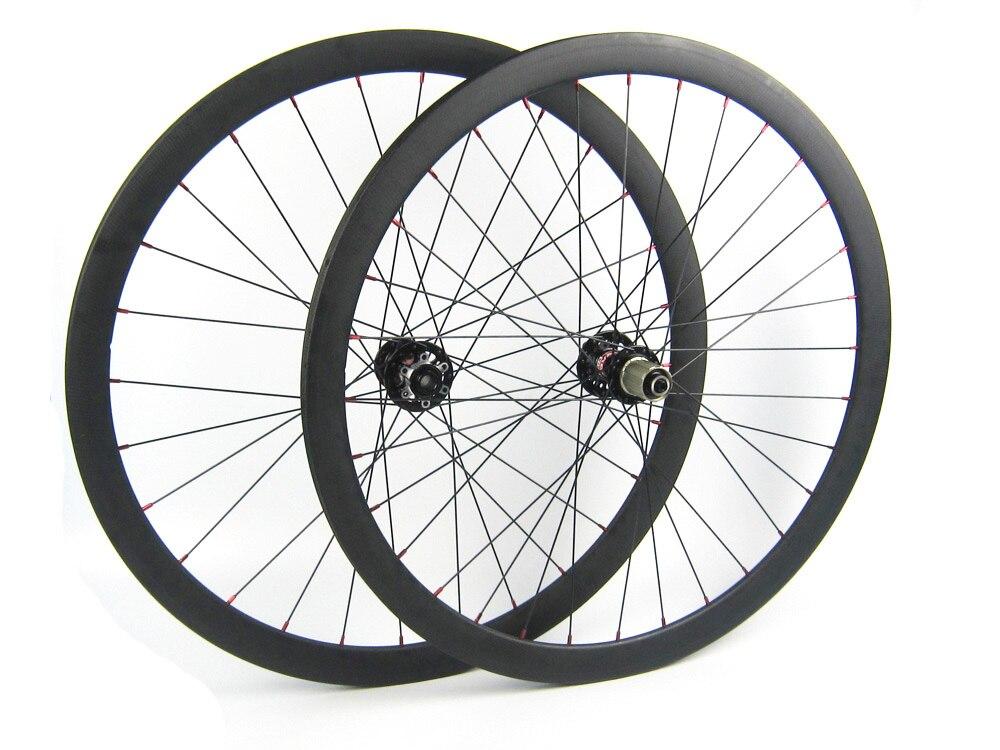 38mm roues en carbone frein à disque en carbone roue de vélo de route Novatec D791SB D792SB moyeux moyeu de frein à disque 411 412 24/28 trous 700C