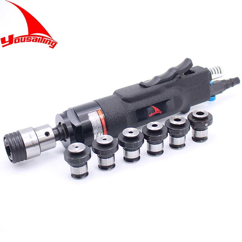 ISO M3-M12 Pneumatic Tapping Machine Air Drill Tapping Tool Pneumatic Tapper Machine With ISO M3-M12 Chucks