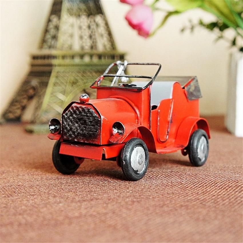 Gratis verzending (3 stks / partij) Multicolor mini retro auto model - Huisdecoratie
