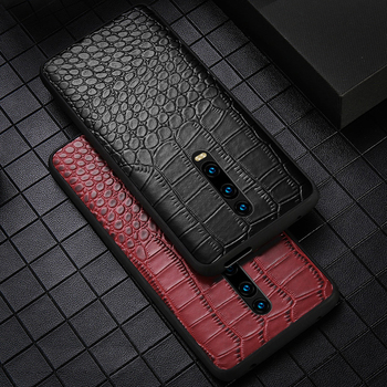 Leather business ultra-thin mobile phone case for xiaomi 9 8 anti-fall all-inclusive protective cover for Redmi K20 Pocophone F1