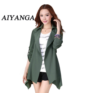 AIYANGA Women Trench Coat 2019