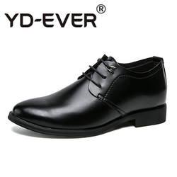 Новый мужские туфли в деловом стиле Кожа Роскошные модельные туфли для мужчин острый носок высокое качество Брендовые мужские модные
