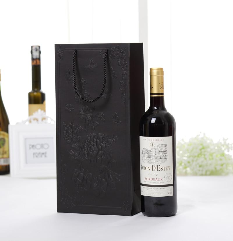 Wine Red 10616cm 130pcslot Gift Packaging Kraft Paper Box