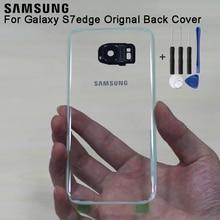 Samsung Original Glass Rear Battery Door Transparent Version For Samsung S7 G9300 S7 Edge G9350 Housing Back Case Cover samsung back cover case for samsung galaxy s7 sm g9300 g9300 s7 edge sm g9350 s7edge g9350 transparent glass housing case