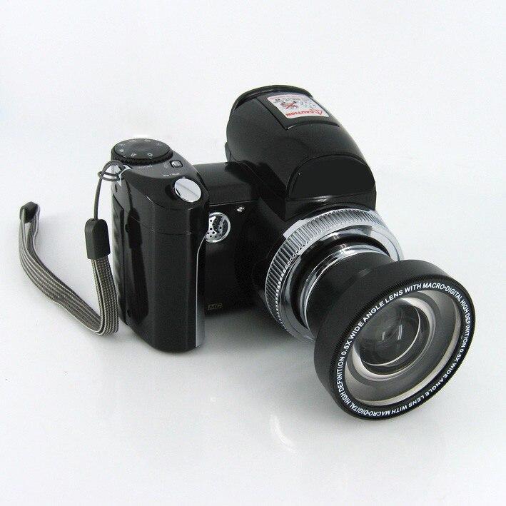 Super mini dslr digital camera Protax DC-510T 2.4 LCD display compact photo camera 640*480 32GB SD card slot video camcorder hp p242va