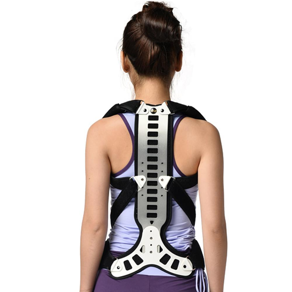 Scoliosis Posture Corrector Adjustable Spinal Fixation Auxiliary Orthosis Brace For Postoperative Recovery <font><b>Humpbacks</b></font> Correction image