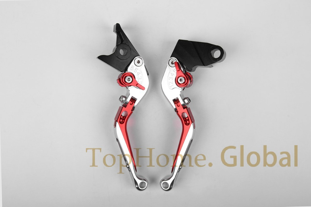 Foldable Extendable Brake Clutch Levers For Honda CB1000R 2008 - 2016 CNC Silver/Red 2009 2010 2011 2012 2013 2014 2015 robert campbell adrian tennant global upp int wb cd