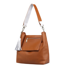 New 2016 Women handbags Genuine Leather Shoulder Bag Luxury Women Messenger Bags Designer Crossbody Bag For ladies YN759