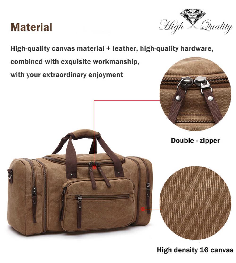 MARKROYAL мужские холщовые дорожные сумки большой емкости багажные сумки Висячие дорожные сумки для переноски дорожные сумки для путешествий ночные мягкие