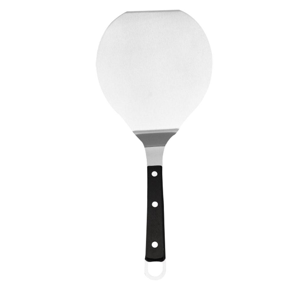 Stainless Steel Pizza Peel Shovel with Wooden Handle Cake Shovel Baking Tools Cheese Cutter Peels Lifter Tool Pizza Shovel нож для пиццы