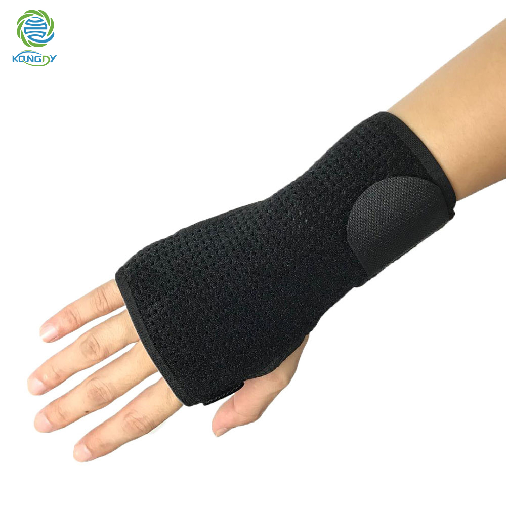 KONGDY Wrist Band Brace Support Splint Sprains Arthritis Protection Wristband Carpal Tunnel Hand Wrist Fractures Support Brace
