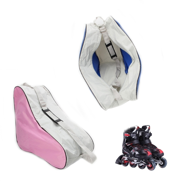1 Pc Portátil Carreg o Saco Sacos de Desporto Cobre Alça de Ombro Ajustável Patins de Patinação Saco Caso