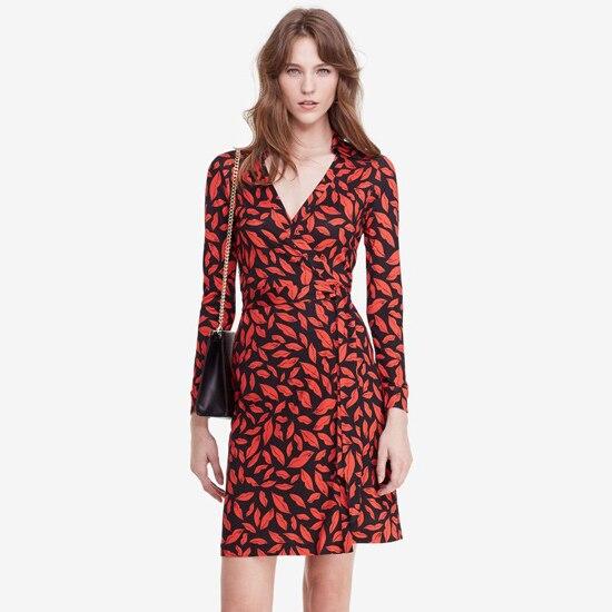 Buy Cheap New Arrival Brand Design Black White Chain Summer Dress V Collar Lace-Up Open Fork Slim Wrap Romper Women Dress AD-27