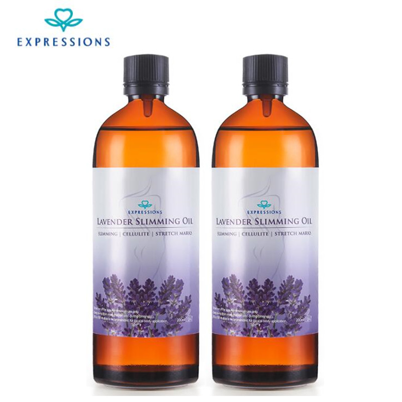 EXPRESSIONS 100% Pure Lavender Essential Oil for Acne Treatment Fade Acne Marks Remove Whelk Shrink Pore Face Care Help Sleep 5