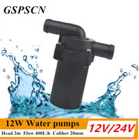 12V 24V 12W Winter Automatic Electric A C Heater Car Water Pumps Strengthen A C Heating