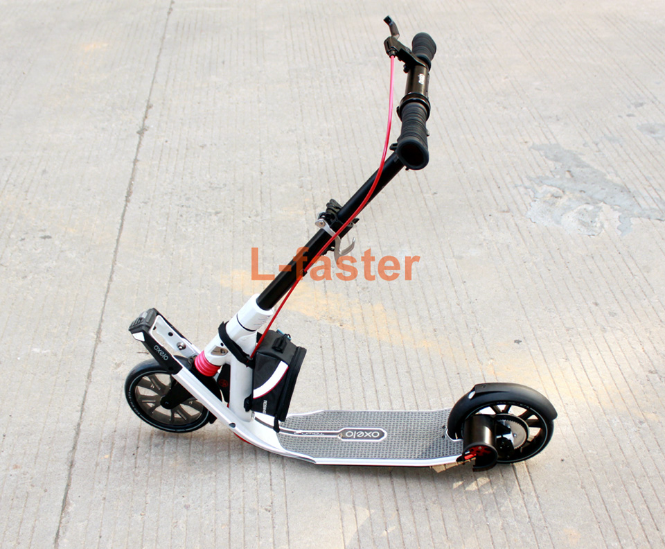 Homemade TOWN 9 Scooter Electric Drive Kit DIY Kickscooter with Belt Drive Most