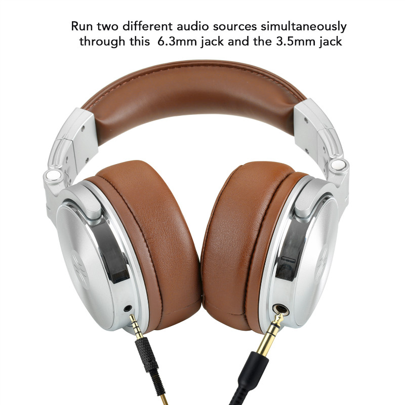 Original Oneodio Headphone Professional Studio Dynamic Stereo DJ Headphones With Microphone HIFI Headset Monitoring For Music 2