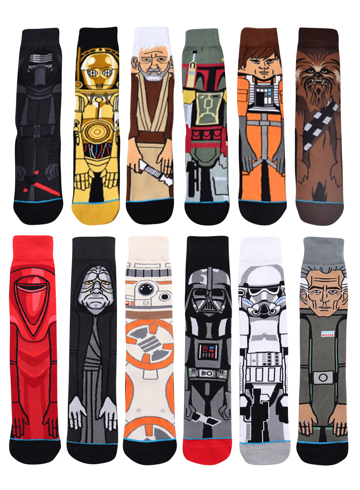 2018Hot Movie Star Wars Stockings For Adult Men Women Jedi Order Master Yoda Cosplay Cotton Funny Tide Long Star War Socks 1 Pai