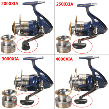 100% New DAIWA REGAL Spinning Fishing Reel 2000-4000XIA With Spare Spool Carretilha Moulinet Saltwater Carp Feeder Fishing Reels cb5feb1b7314637725a2e7: 2000 XIA|2500 XIA|3000 XIA|4000 XIA