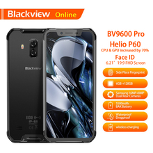 Blackview BV9600 Pro 6,21 дюймов Водонепроницаемый смартфон Helio P60 6 ГБ + 128 ГБ 19:9 FHD 5580 мАч Android 8,1 NFC Dual SIM мобильный телефон