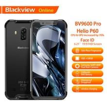 Orijinal IP68 Su Geçirmez güçlendirilmiş akıllı telefon Blackview BV9600 Pro 6 GB + 128 GB Android 8.1 19:9 FHD AMOLED Darbeye 4...