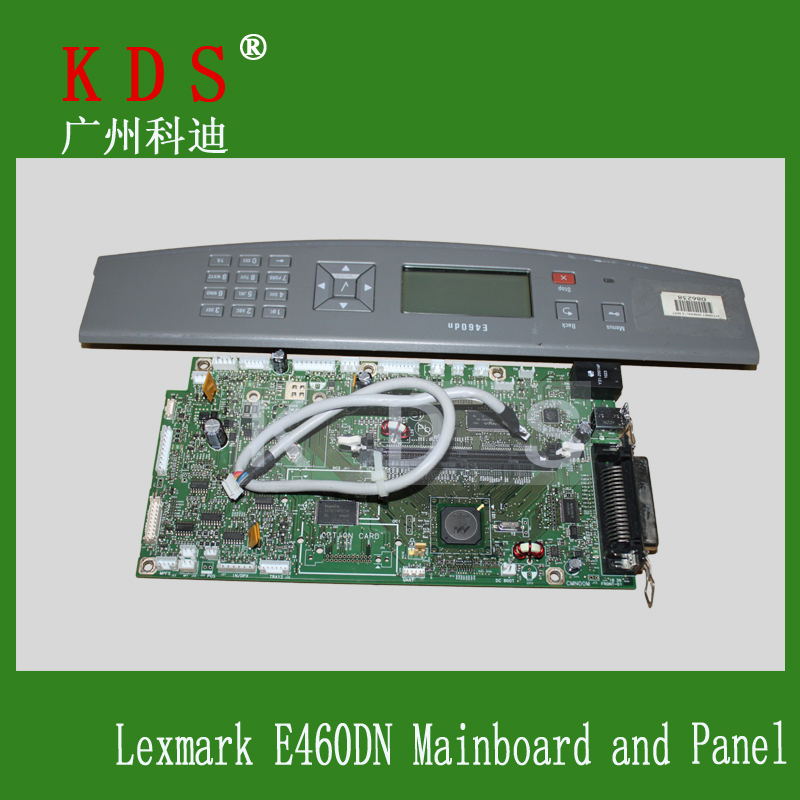 OEM Printer Spare Parts Main Board 40X5350 for Lexmark E460DN Mother Board Formatter Board Logic Board Whit Control Panel