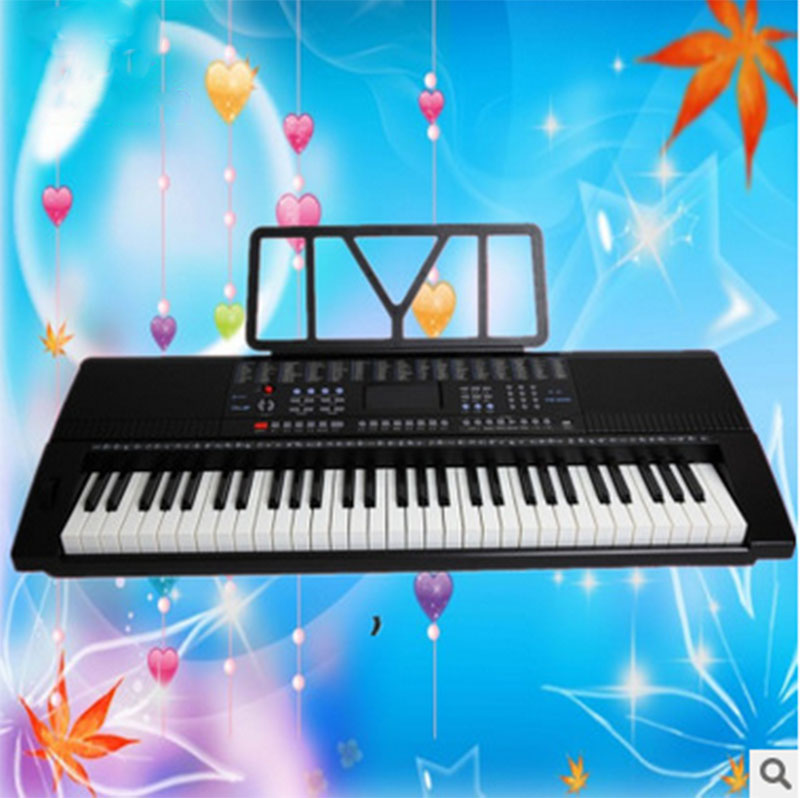 Взрослых клавиатура клавиши пианино Yongmei 9200 Дети Начинающий запись клавиатура 61 Ключ Стандартный фортепиано клавиатура
