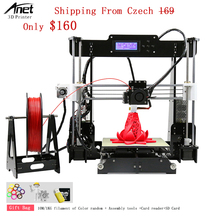 High Precision than Reprap i3 Anet A8 3d Printer Kit Optional Auto Leveling Version 1.75MM ABS PLA Filament 3d Printer For Sale цена