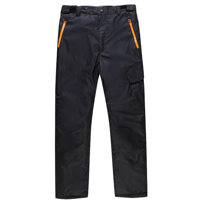 ФОТО Winter waterproof mens snowboarding pants thicken outdoor hiking ski pants for men snowboard trousers women skiing snow pants