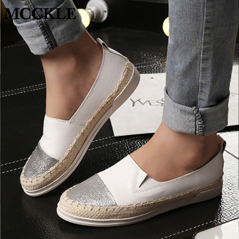 Womens Espadrilles Loafers Sequin Flat Comfy Casual Spring Shoes Footwear Size