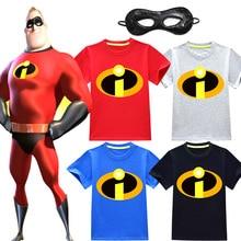 2018 Boys Ninjago T Shirt Superman Batman Kids 3D Cartoon Short Sleeves Children T-Shirt Nova Fornite Clothes
