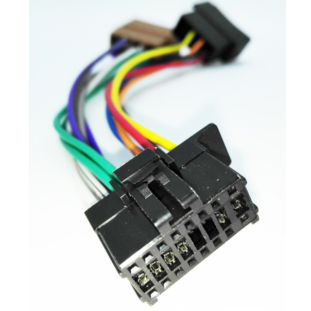 car iso wiring harness for pioneer deh series 2010+ (select ) stereo -  pioneer