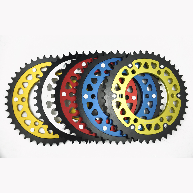 LOPOR Motorcycle Rear Sprocket 46T For Yamaha FZ6 1B3,FZS6 FZS YCB,YCL,YL USA,FZ-6 Fazer 5VX 4P5,FZ6 S2 ABS 4SB 5S2 5S5 #530 цены