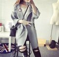 HOT!New 2016 Fashion Autumn Winter Slim Thick Woman Ponchos Casual Outwear Cardigans  Long Knitted Cardigan Women Sweater