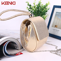 KEENICI Fashion Sweet Women Ladies Bag Evening Bag Pu Handbags Bolsas Femininas Lady Day Cluch Party Wedding Purse Black Gold