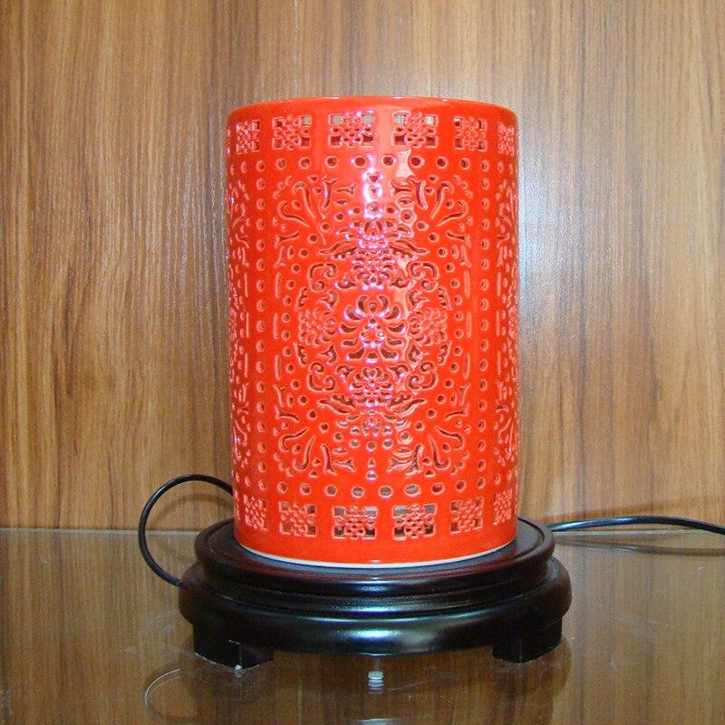 Bedside lamp jingdezhen chinese porcelain ceramic table - Porcelain table lamps for living room ...