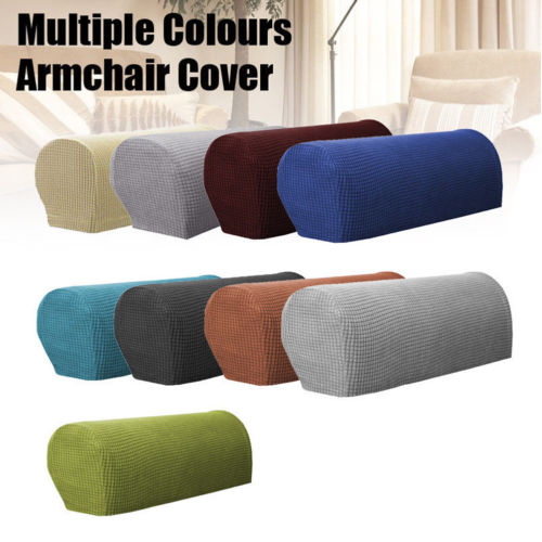 stylish sofa arm covers | 2019 New Style 1 Pair Removable Arm Stretch Sofa Couch ...