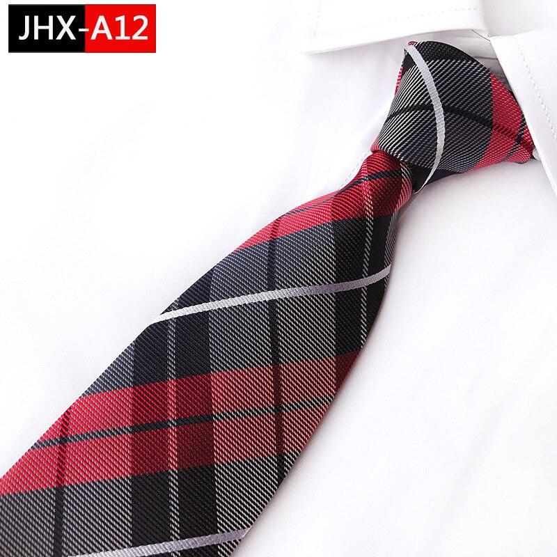 Unique Man's Necktie Striped Silk Ties  Classic Color Overlay Jacquard Tie Suit Wedding Business Ties