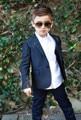 Лучшие Качества One Button Свадебные Костюмы для Мальчиков Для Детей Малыш Смокинг Две Части Мальчиков Пром Костюмы Мальчики Формальная Одежда
