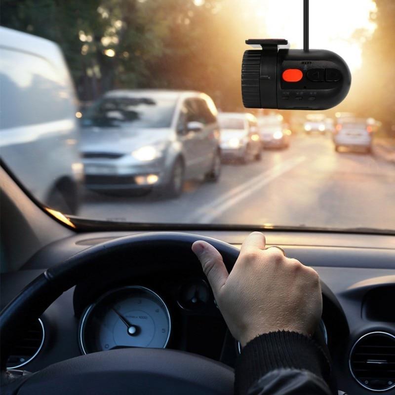 Car DVR Mini HD 120 Gradi OBIETTIVO Grandangolare G-sensore della Macchina Fotografica Dvr del Registratore di Video Recorder Dash Cam DVR dashcam Non-schermo