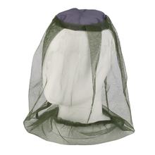 Nowa kamuflaż czapka wędkarska pszczelarstwo moskitiera czapka z siatką anty-pszczoła netto maska na oczy na zewnątrz zapewniający cień pojedyncze nauszniki narzędzia kempingowe tanie tanio Owadobójczy traktowane Llin Składane Domu OUTDOOR Camping Podróży Military Dorosłych Akcesoria Uniwersalny Head cover of mosquito net