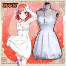 Nueva Acción!!! Love live Nishikino Maki de Dama de Despertar Hollow vestido lolita uniforme cosplay traje de halloween para mujeres